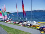 Lake Taupo - boats for hire
